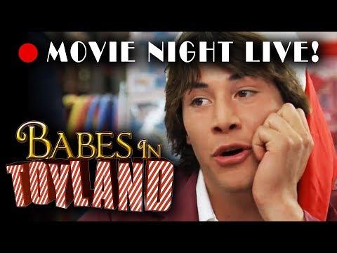 Movie Night  • Babes In Toyland 1986 Christmas film starring Drew Barrymore & Keanu Reeves!