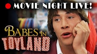 "Movie Night Live • ""Babes In Toyland"" (1986 Christmas film starring Drew Barrymore & Keanu Reeves!)"