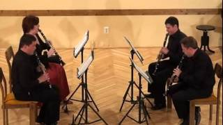 Grandioso Clarinet Quartet Kaposvár-Stephen Davies-That