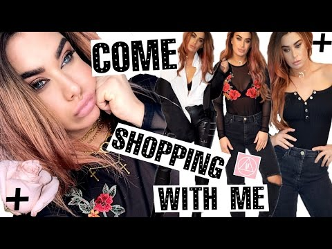 Come Shopping with me! - MISSGUIDED edition TRY ON clothing haul!