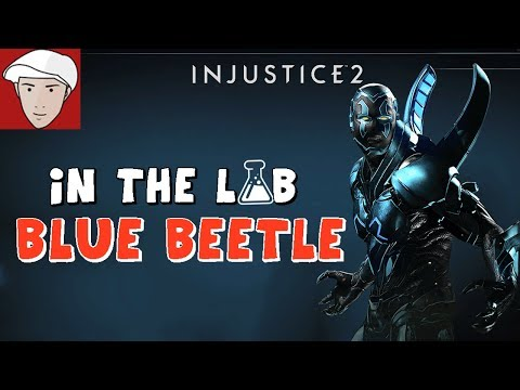 INJUSTICE 2 - In the lab with... BLUE BEETLE!
