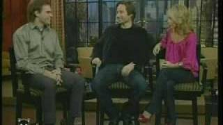 michael c hall interview on live with regis kelly 2007