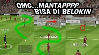 Free kick trick tutorial Pes 2019 mobile beta