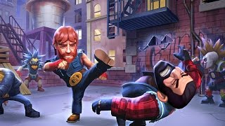 NONSTOP CHUCK NORRIS iOS Gameplay Video