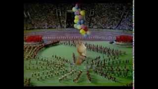 Moscow Olympics 1980 Closing ceremony with Misha!! Москва Олимпиада