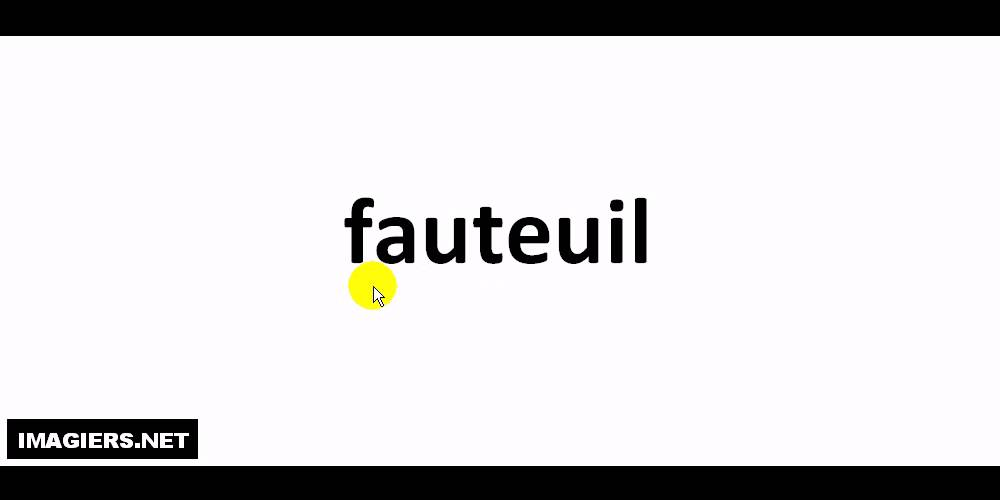 How to pronounce fauteuil