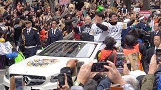 プロ野球日本シリーズを制し、2年ぶりに日本一に輝いた福岡ソフトバン...