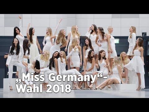 """Diese Schönheiten wollen """"Miss Germany"""" werden - Die Wahl zur """"Miss Germany"""" live"""