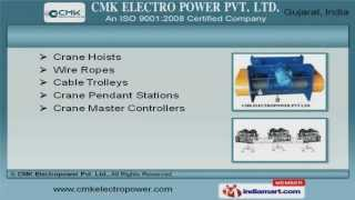 Material Handling Equipment By Cmk Electropower Pvt.ltd, Rajkot