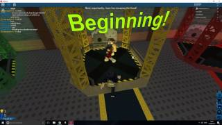 FLOOD PARKOUR [Roblox Flood Escape] w/Friends