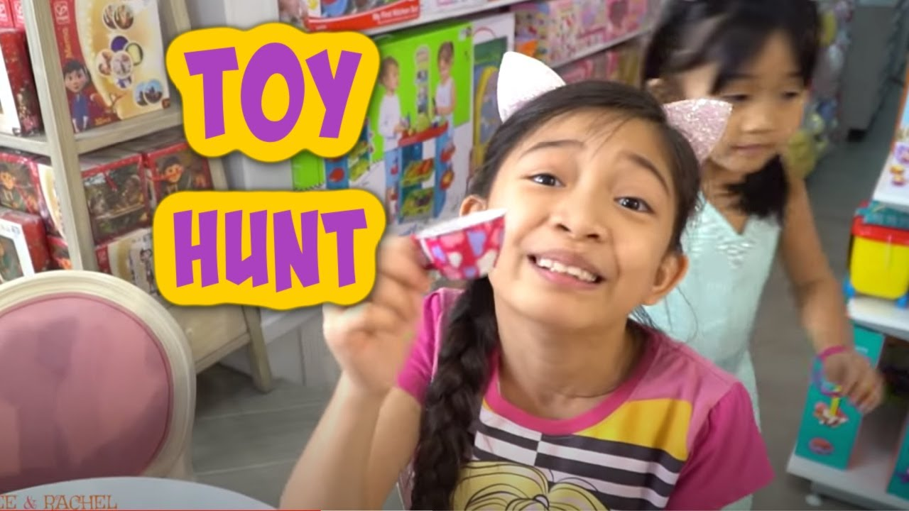 Download Toy hunting time with Kaycee and Rachel