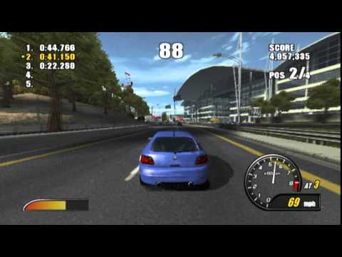 Burnout 2: Point of Impact PS2 Gameplay