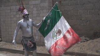 Xinacetes, danza prehispánicas para expulsar demonios de San Nicolás de los Ranchos