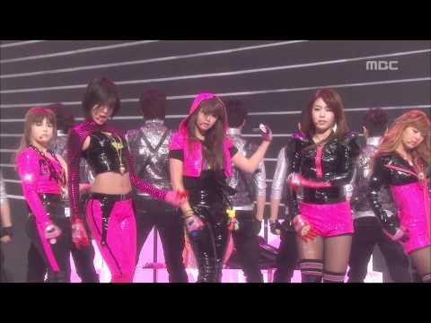 T-ARA - Crazy because of you, 티아라 - 너 때문에 미쳐, Music Core 20100313