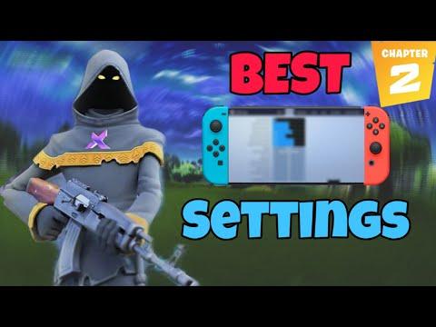 Best Chapter 2 Settings For Fortnite Nintendo Switch !