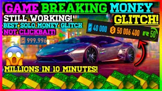 **THIS MONEY GLITCH WILL BREAK YOUR GAME** Need For Speed Payback Money Glitch (SOLO & FAST)