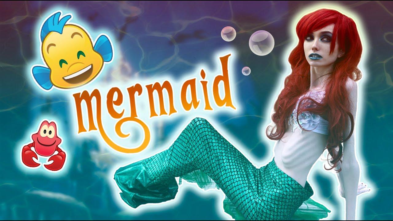 Transforming myself into a Mermaid!