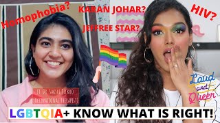 Let's talk about SEXUALITY baby! ft. Dr. Sakshi Tickoo | LGBTQ+ Doubts Answered | Sarah Sarosh
