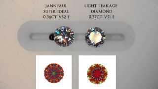 Repeat youtube video JannPaul Education: Light Leakage in a 0.3carat Diamond