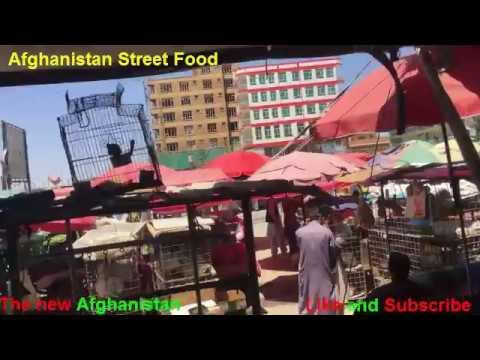 Afghanistan Street Food Kabul city Ahmad Shah Baba Mina //24/May/2018/.