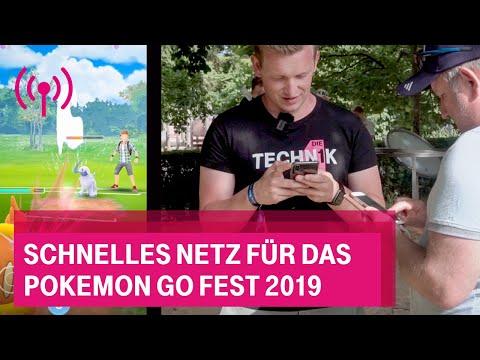 Social Media Post: Schnelles Netz für das Pokemon Go Fest 2019