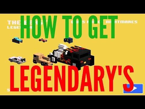 What it Takes to Get Legendary's - Smashy Road - How to get Legendary Cars in Smashy Road