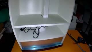видео Встраиваемая вытяжка Elikor Интегра 60 белый / дуб