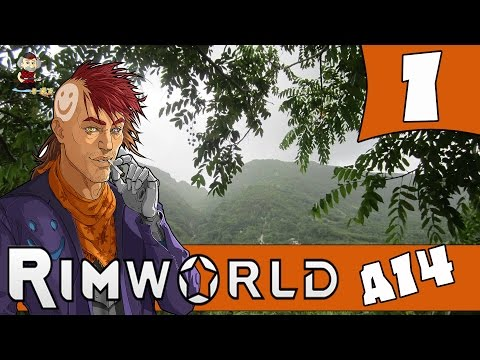 RANDY TRIBES - RIMWORLD ALPHA 14 Let's Play - Ep.1 - Rimworld A14 Gameplay