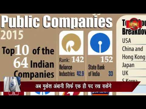 MUKESH AMBANI WILL NOT BE IN THE TOP 10 INDUSTRIALISTS. NEWS BROADCASTING TEAM