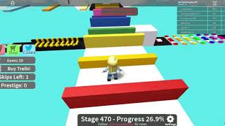 Roblox Mega Fun Obby Stages 450-511 HholykukingamesYT Playing