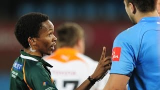 Rugby Referee Compilation #7 - Julle sal luister by 'n ref.