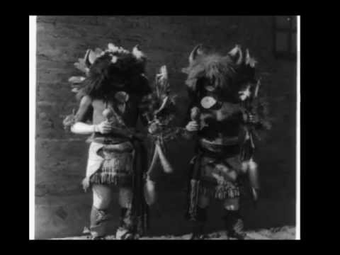 Oldest Native American drumming video ever