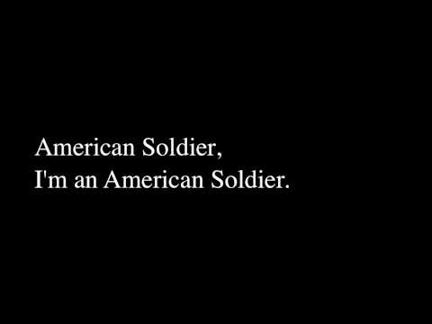 American Soldier - Toby Keith (LYRICS)