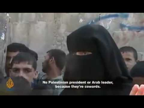 """Palestinian Woman On Arab Leaders:  """"They Are Only Men In Name..."""""""