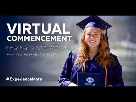 Iowa Central Community College 2020 Graduation Commencements (5/22/2020)