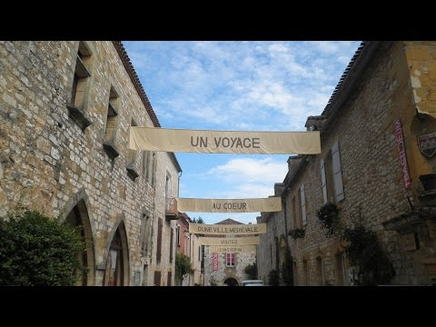 """Dordogne Monpazier 2015, one of """"the most beautiful villages of France""""."""