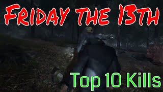 Top 10 Jason Kills of the Week Friday the 13th the Game