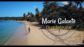 Marie Galante, visite guidée de l'île de Guadeloupe (4k)