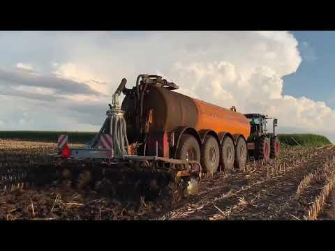 Veenhuis 10500 Gallon And Claas Xerion 5000 - Global Equipment LLC