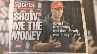 How Someone Duped The Boston Herald Into Running Fake Tom Brady Story