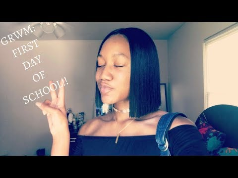 GRWM: First Day of School | Quick Morning Routine!