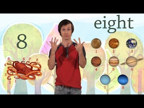 8: The Number Eight - Kids Learn to Count Numbers