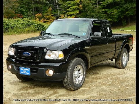 lowest price 2011 ford ranger sport 4x4 for sale near portland me youtube. Black Bedroom Furniture Sets. Home Design Ideas