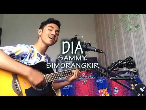 Dia - Sammy Simorangkir (Acoustic cover by Ridho Furqani)