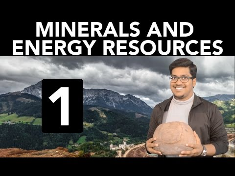 Geography: Minerals and Energy Resources (Part 1)