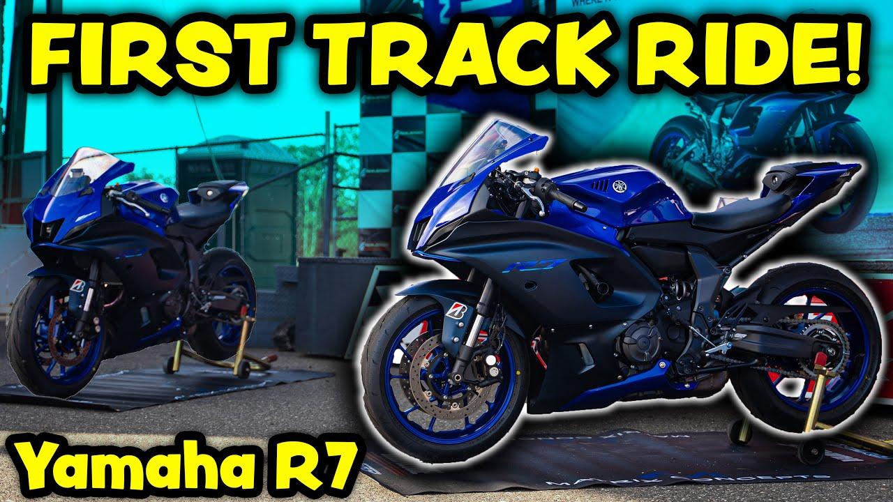 The Yamaha R7 is a BEAST! (R World Trackday)