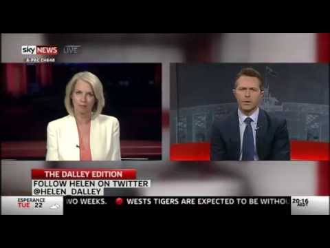 Interview with Helen Dalley - Sky News The Dalley Edition (23/03/2015)