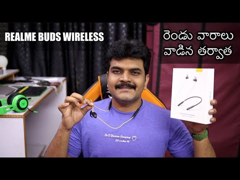 Realme Buds Wireless Review ll in Telugu ll