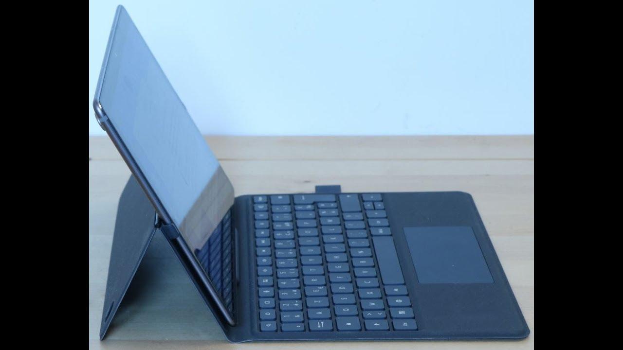 Test Du Clavier Huawei Keyboard Cover De La Mediapad M5 10 8 Et Son