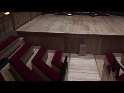 Sam Wanamaker Playhouse stage